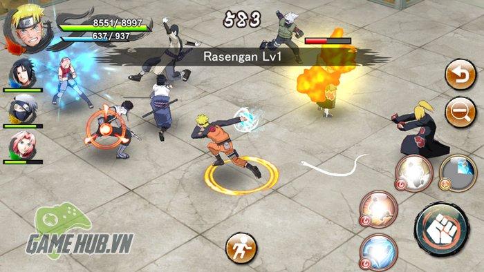 GameHubVN Chien ngay Naruto X Boruto Ninja Voltage Sieu pham Naruto vua dap cua Mobile 1 - NARUTO X BORUTO NINJA VOLTAGE on the AppStore