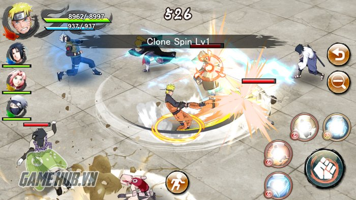 Chiến ngay Naruto X Boruto Ninja Voltage - Siêu phẩm Naruto