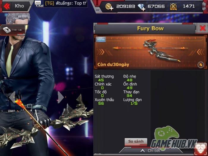 Vũ khí mới trên chiến trường CrossFire Legends tháng 12 đáng sợ như thế nào? - ảnh 2