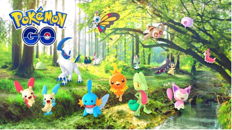 Pokemon GO sắp tung Update triệu tấn - Thêm đến 50 Pokemon Gen 3