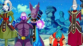 Dragon Ball FighterZ bất ngờ triệu hồi Beerus và Hit lên chiến trường