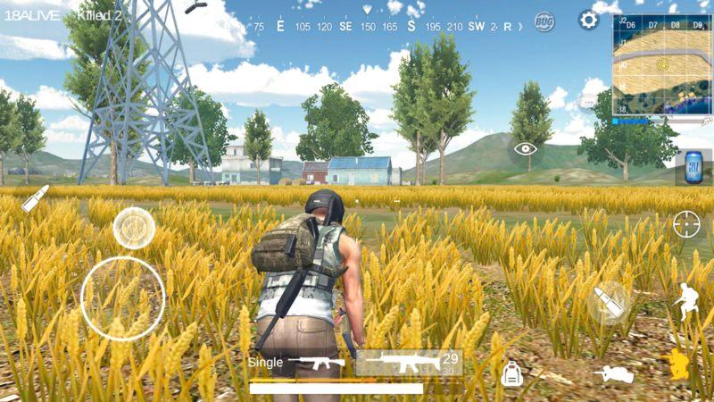 Survival Squad - Lại xuất hiện Game giống 99% PUBG trên Mobile