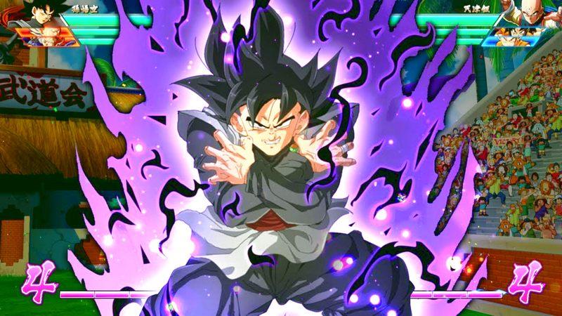 Xem Goku Black cho Trunks ăn hành trong Dragon Ball FighterZ