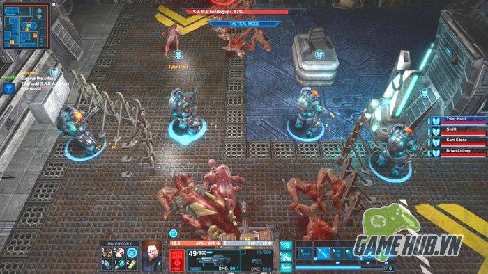 Nhận miễn phí The Red Solstice - Alien Shooter phiên bản co-op 8 người chơi