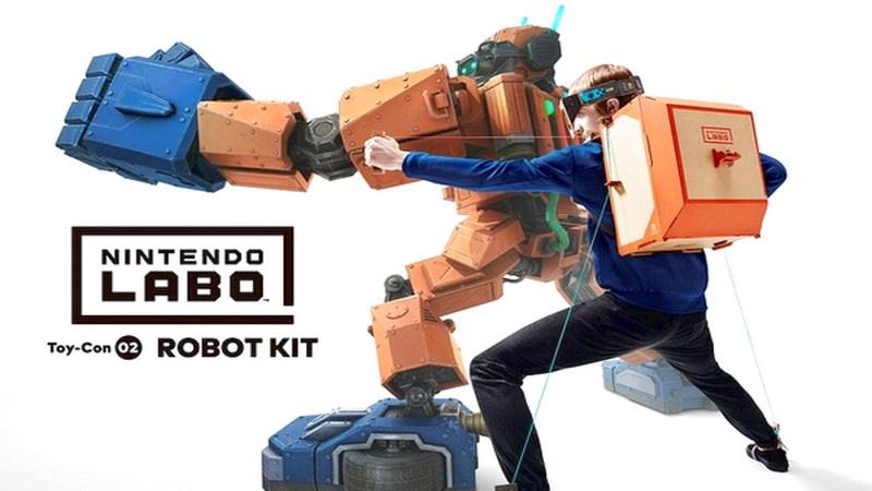 Nintendo Labo - Khi bạn chơi game bằng... bìa cát tông