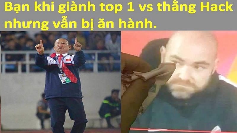 Rơi hàm với bộ ảnh chế U23 Việt Nam của game thủ