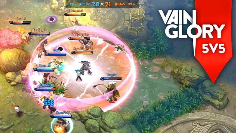 Làm sao để Vainglory 5v5 thay đổi Esports trên Mobile?