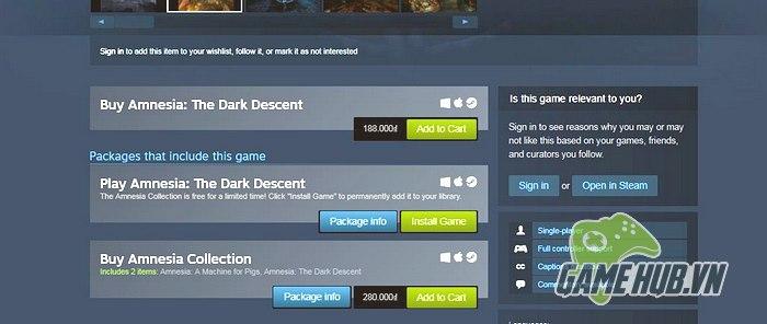 Tất cả những gì bạn cần làm là truy cập vào đường link sau trên hệ thống  Steam: