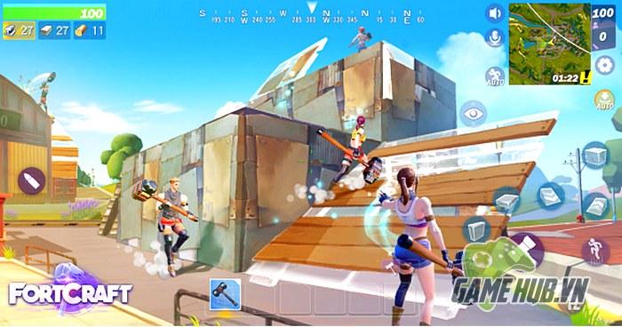 Giật mình với Fortcraft - Game ăn theo Fortnite Mobile của NetEase - ảnh 3