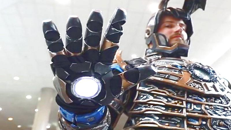 Sốc nặng với bộ giáp Iron Man tự chế mất gần năm để thực hiện