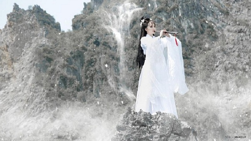 VLTKm - Ngẩn ngơ trước bộ ảnh cosplay Côn Lôn như tranh vẽ của cô nàng đất Cố đô