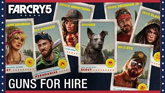 far cry 5, fps, game hay 2018, guns for hire