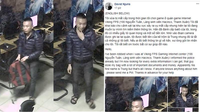 """Khách Tây đi chơi net Việt và quả """"đắng"""" bị ăn cắp sạch tiền cùng giấy tờ"""