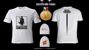 Đã tìm ra mẫu áo dành cho cộng đồng ROS mobile Việt