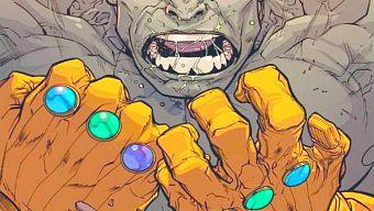 Quên Thanos đi! Vì Hulk có thể đeo 2 găng tay vô cực và dần nhừ tử Avengers