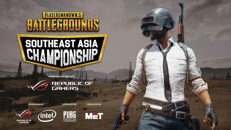 ASUS Republic of Gamers và MET đồng ra mắt Giải vô địch PUBG Đông Nam Á