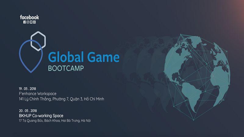 công nghệ, facebook, global game bootcamp, sự kiện