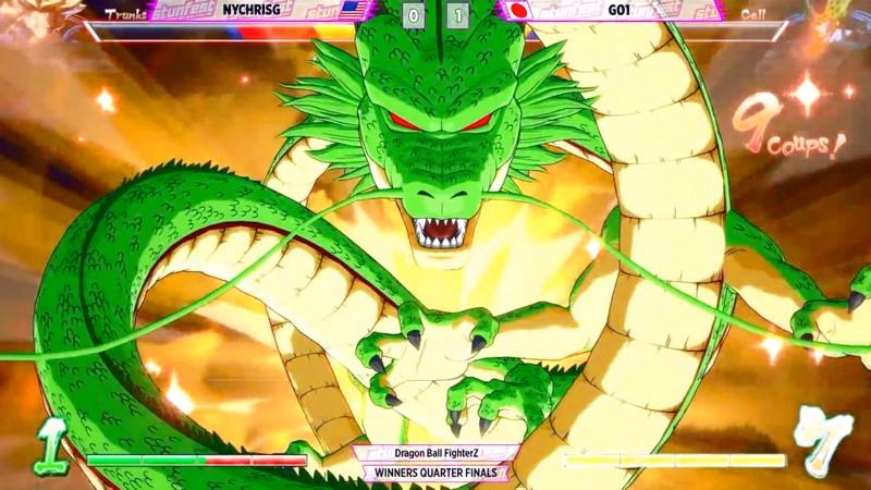 Sốc với game thủ Dragon Ball FighterZ triệu hồi Rồng Thần trong giải Pro
