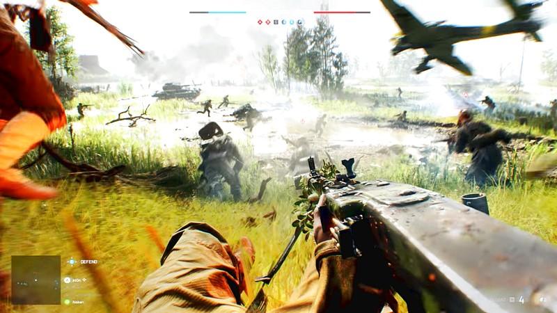 Battlefield 5 lộ diện đồ họa siêu khủng - Cho game thủ xây.. pháo đài