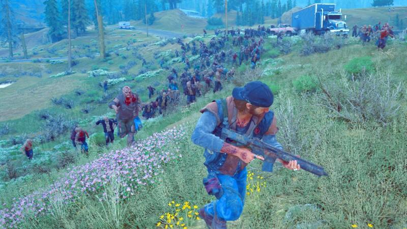 Days Gone - Sẽ thế nào khi phải 1 mình chọi 300 Zombie?