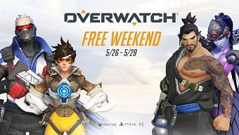 Overwatch Anniversary Infographic and Free Weekend
