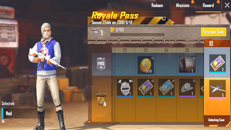 PUBG Mobile releases Royale Pass, giving players a lot of