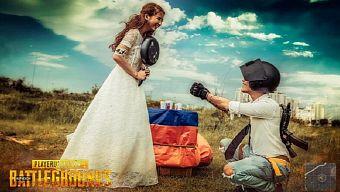 """Bộ ảnh cưới của đôi vợ chồng theo cách PUBG """"chất lừ"""" gây sốt cộng đồng mạng"""