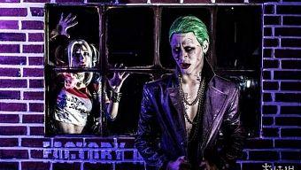 """Bộ ảnh Cosplay """"cặp đôi điên loạn"""" Joker - Harley Quinn đẹp thần sầu không kém gì bản gốc"""