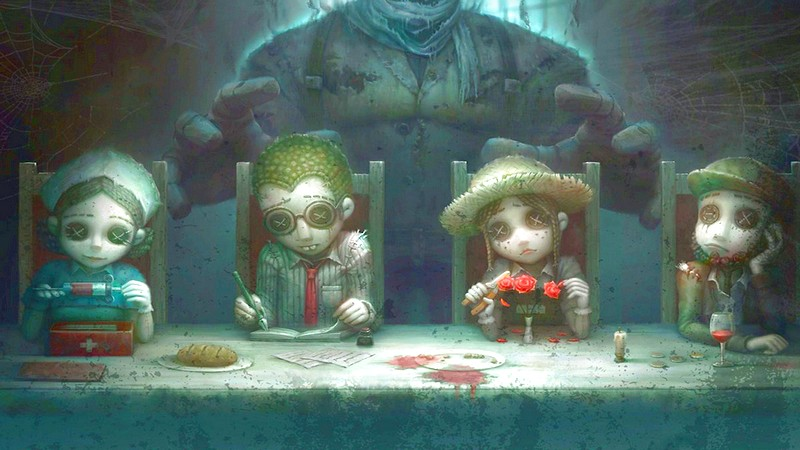 dead by daylight, english, horror game, identity v, netease