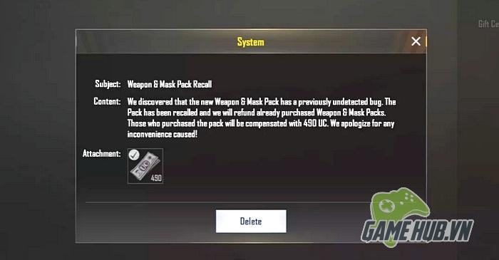 PUBG Mobile giải thích lý do loại bỏ bộ Skin cực độc trong game