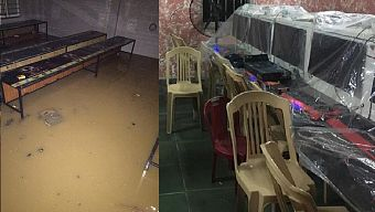 Khốn khổ các quán Net chạy lũ ngày mưa bão