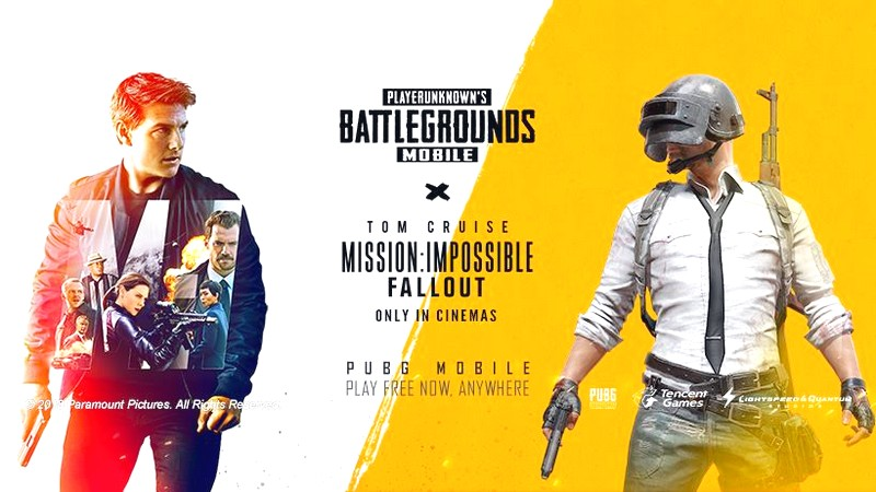 english, mission impossible, tom cruise, pubg mobile, mission impossible fallout