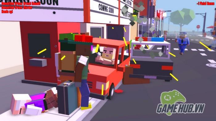 Nhận ngay Broke Protocol - Game Online hòa máu GTA 5 với Minecraft