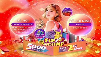 fun festival, fun festival 2018, funfes, funtap, nhat kiem giang ho
