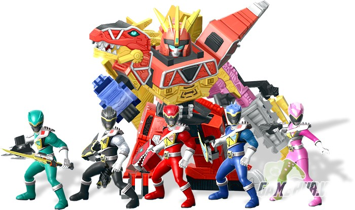 """Power Rangers: All Stars - """"50 Anh Em Siêu Nhân"""" tập hợp trong Game Mobile  siêu khủng"""