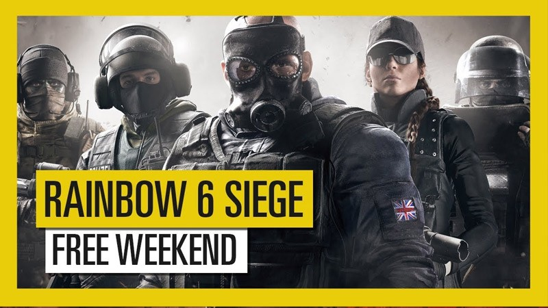 free weekend, game bắn súng, game console, game fps, game hành động, game pc, game ps4, game xbox one, rainbow 6 siege, rainbow six seige, ubisoft