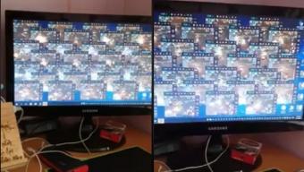 """Choáng với góc """"cày"""" của nữ game thủ VLTK Mobile, một mình ôm 40 acc """"cân"""" cả bang"""