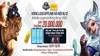 Game thủ nhận quà khủng khi tham dự buổi Offline giải đấu Mobile Legends: Bang Bang VNG tại Hà Nội