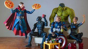 """Cười té ghế trước bộ ảnh """"Các siêu anh hùng làm gì khi rảnh rỗi?"""""""