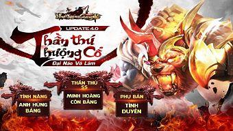Nhất Kiếm Giang Hồ - Funtap chính thức ra mắt Big Update 4.0 Thần Thú Thượng Cổ, tặng 300 giftcode