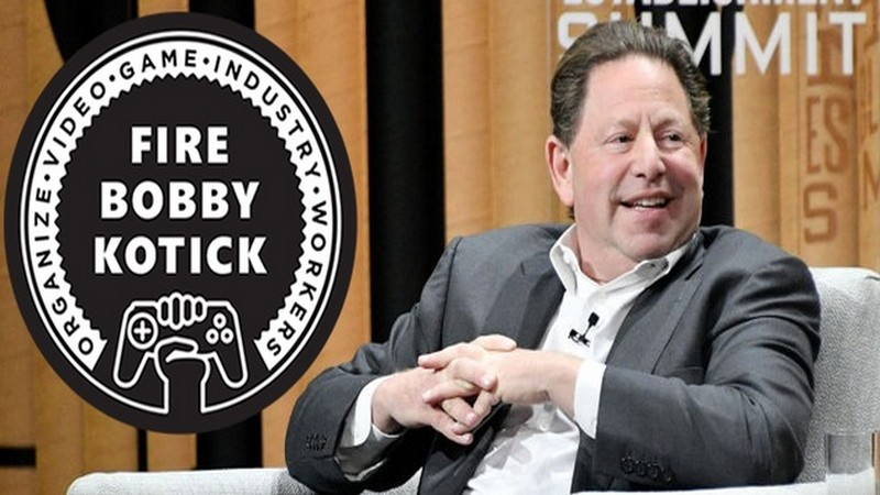 activision, activision blizzard, blizzard, bobby kotick, cat giam nhan vien, firebobbykotick, game workers unite, xbox