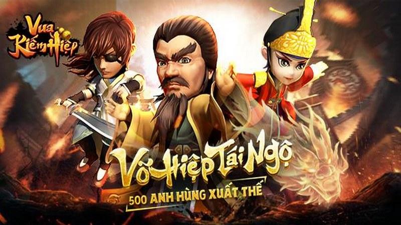 Vua Kiếm Hiệp - Tân Chưởng Môn ra mắt
