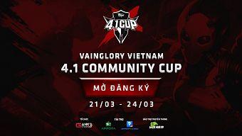 Giải đấu Vainglory 4.1 Vietnam Community Cup bắt đầu mở đăng ký