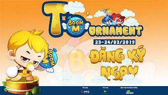 Vừa mới ra mắt Boom M đã xuất hiện giải đấu cộng đồng đầu tiên