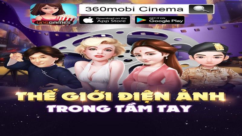 360mobi Cinema ra mắt