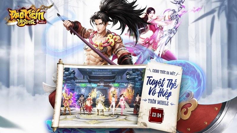 Đao Kiếm Vô Song Mobile ra mắt