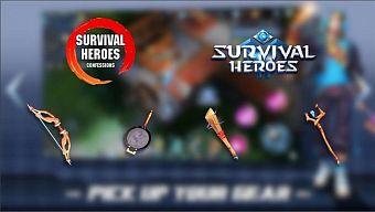 """Cộng đồng Survival Heroes đau đầu bình chọn """"vũ khí cấp 2 được yêu thích nhất"""""""