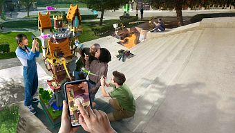 game android, game ar, game ios, game mobile, game mobile 2019, microsoft, minecraft, minecraft earth, tương tác thực tế ảo