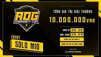 """Hé lộ sự kiện """"bí mật"""" vô cùng hấp dẫn của giải đấu AOG - Community Cup 2"""