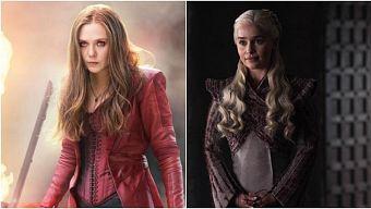 """Ít ai biết Scarlet Witch từng bị chê cười khi thử vai """"Mẹ Rồng"""" của Game of Thrones"""